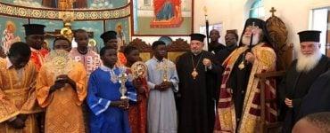Ο Πατριάρχης Αλεξανδρείας στην Ι.Μ. Ζιμπάμπουε