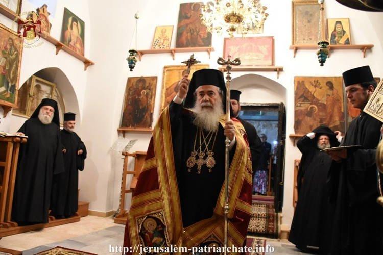 Εορτή της Αγίας Θέκλας στο Πατριαρχείο Ιεροσολύμων