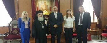 Ο Υπουργός Γεωργίας της Κύπρου στον Πατριάρχη Ιεροσολύμων