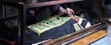 Τοποθέτηση λειψάνου Αγίου Σάββα του Ηγιασμένου σε νέα λάρνακα