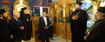Αρχιερατικός Εσπερινός Αγίου Κυπριανού στο Ηράκλειο Αττικής