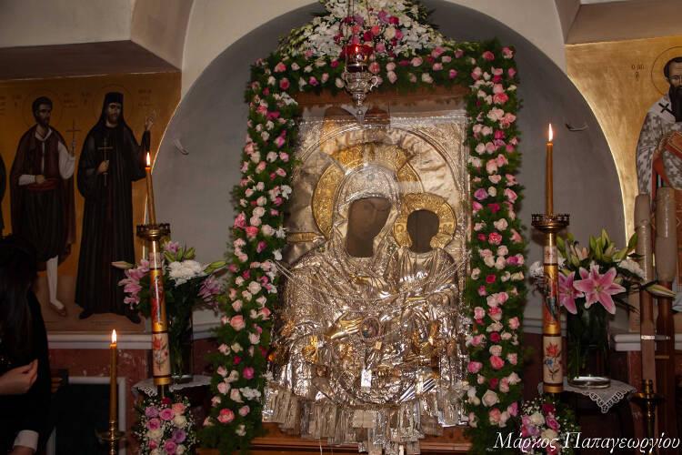 Λαμπρός εορτασμός Παναγίας Βουρλιώτισσας στη Νέα Φιλαδέλφεια (ΦΩΤΟ)