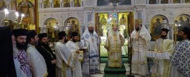 Τρισαρχιερατική Θεία Λειτουργία και Χειροτονία Διακόνου στη Νέα Ιωνία