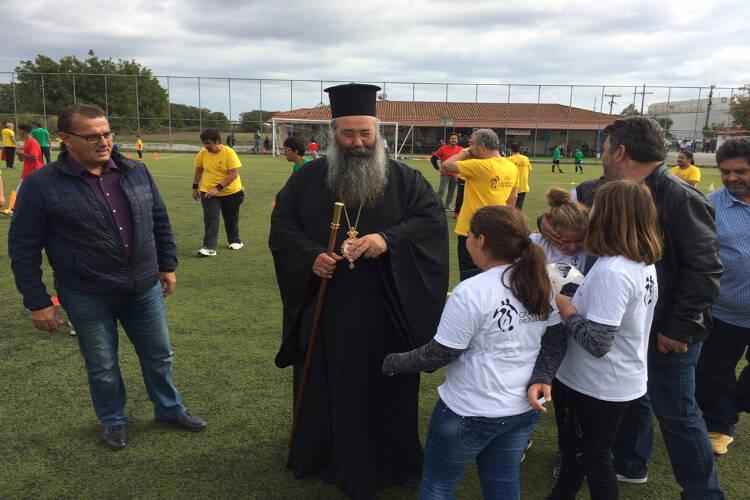 Θυρανοίξια Παρεκκλησίου στο Αθλητικό κέντρο Νέας Εφέσου Πιερίας