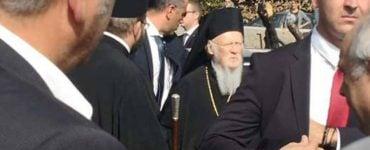 Τρισάγιο του Οικουμενικού Πατριάρχη στο Μάτι