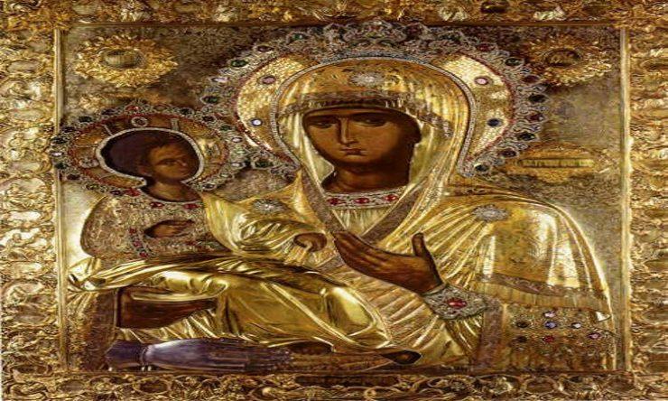Η Παναγία η Τριχερούσα στη Νεάπολη Θεσσαλονίκης