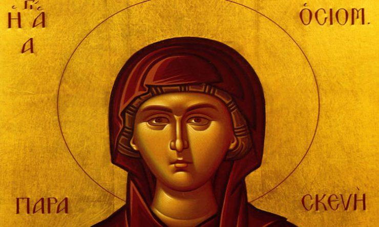 Θαύμα Αγίας Παρασκευής στη Χίο