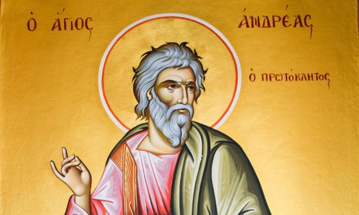 Αγρυπνία Αποστόλου Ανδρέα στον Εύοσμο Θεσσαλονίκης