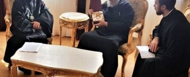 Ο Μητροπολίτης Βολοκολάμσκ στον Αρχιεπίσκοπο Κύπρου