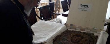 Το ψηφιδωτό του Αποστόλου Μάρκου επέστρεψε στην Κύπρο