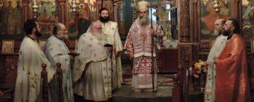 Αρχιερατική Θεία Λειτουργία στο Άνω Αθαμάνιο Άρτας
