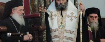 Πολυαρχιερατικός Εσπερινός Αγίου Δαμασκηνού του Στουδίτου στην Άρτα