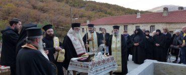 Πρώτος Ιερός Ναός Οσίας Σοφίας της Κλεισούρας (ΦΩΤΟ)