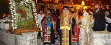 Μεθέορτος Εσπερινός Αγίου Μηνά στην Καστοριά