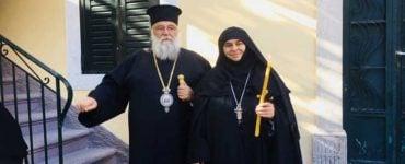 Νέα Μεγαλόσχημη Μοναχή στη Μητρόπολη Κερκύρας