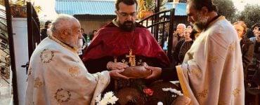 Εσπερινός Ανακομιδής Λειψάνων Αγίου Γεωργίου στη Μητρόπολη Κυδωνίας