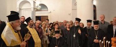 Δέηση στον Άγιο Γεώργιο Νέας Αλικαρνασσού στην Κώ