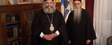 Ο π. Νικόδημος Γιαννακόπουλος στη Μητρόπολη Μάνης