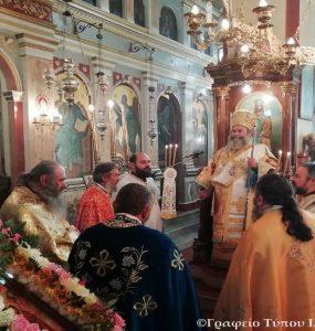 Η εορτή των Εισοδίων της Θεοτόκου στη Μητρόπολη Μάνης (ΦΩΤΟ)