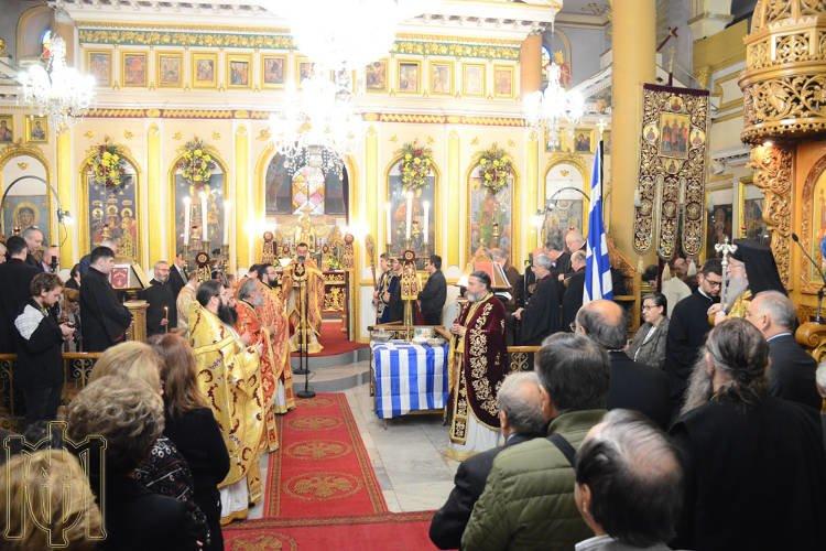 Η Εορτή του Αγίου Μηνά στη Θεσσαλονίκη και Μνημόσυνο για τον Κωνσταντίνο Κατσίφα (ΦΩΤΟ)