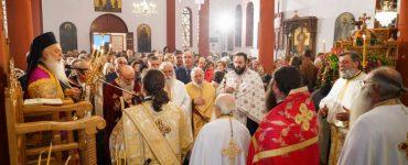 Εσπερινός Αγίου Νεκταρίου στη Μητρόπολη Βεροίας (ΦΩΤΟ)