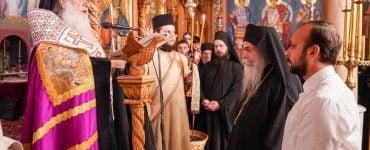 Κουρά Μοναχού στην Ιερά Μονή Παναγίας Δοβρά (ΦΩΤΟ)