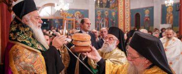 Εσπερινός Αγίου Αρσενίου του Καππαδόκου στη Μητρόπολη Βεροίας (ΦΩΤΟ)