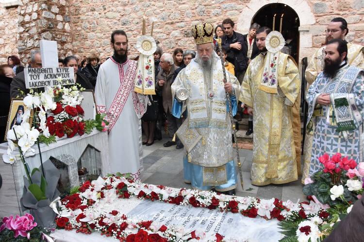 Με λαμπρότητα η πρώτη εορτή Αγίου Ιακώβου Τσαλίκη του εν Ευβοία