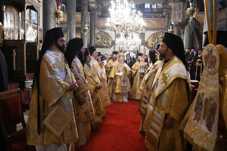 Οικουμενικό Πατριαρχείο τίμησε τον ιδρυτή του Άγιο Ανδρέα