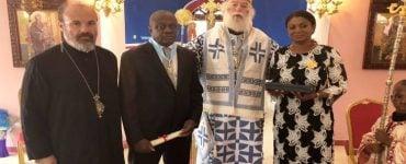 Ο Πατριάρχης Αλεξανδρείας στην Ακτή Ελεφαντοστού