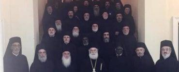 Ολοκλήρωση εργασιών Ιεράς Συνόδου Πατριαρχείου Αλεξανδρείας