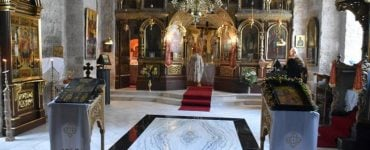 Η Εορτή Ανακομιδής Λειψάνων Αγίου Γεωργίου στα Ιεροσόλυμα