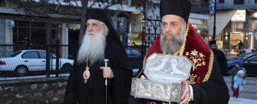 Η Καρδίτσα υποδέχτηκε λείψανο του Αγίου Λουκά του Ιατρού