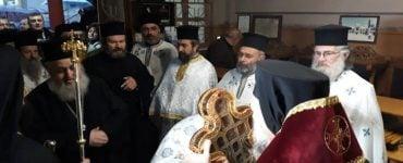 Τίμιο Ξύλο υποδέχτηκε η Μητρόπολη Θεσσαλιώτιδος