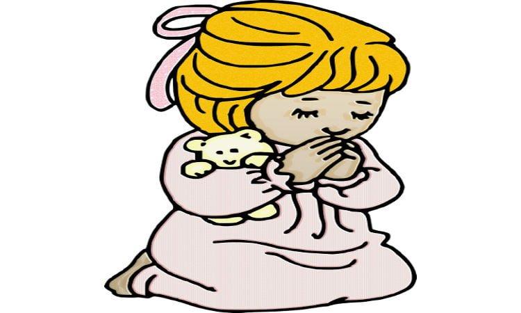 Παιδική προσευχή μετά τη Θεία Κοινωνία
