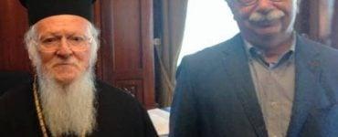 Στο Φανάρι ο Υπουργός Παιδείας Γαβρόγλου