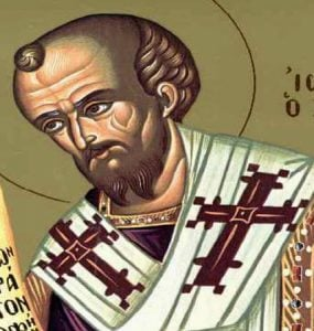 Thessaloniki live Saint John's the Chrysostom Panegyrical Vesper