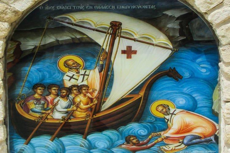 Αγρυπνία Αγίου Νικολάου στον Εύοσμο Θεσσαλονίκης