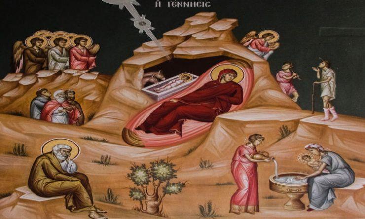 Αγρυπνίες Χριστουγέννων στη Μητρόπολη Θηβών