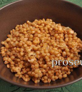 Βαρβάρα συνταγή - Παραδοσιακή της Θράκης