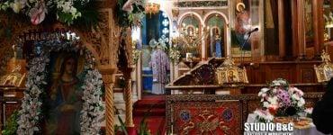 Η Εορτή της Αγίας Βαρβάρας στη Μητρόπολη Αργολίδος