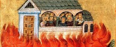 Εορτή Αγίων Δισμυρίων μαρτύρων που κάηκαν στη Νικομήδεια