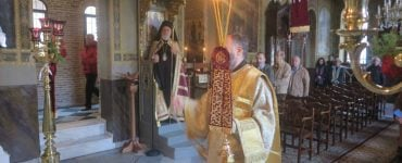 Η Εορτή του Οσίου Πορφυρίου στην Πλάκα