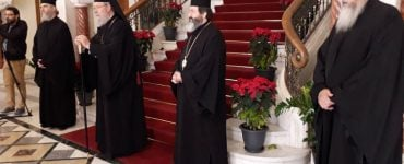Πρωτοχρονιάτικα κάλαντα στον Αρχιεπίσκοπο Κύπρου