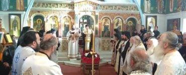 Η Εξόδιος Ακολουθία Καθηγουμένου της Μονής Παναγίας Ελεούσης