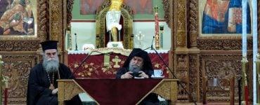 Ομιλία Καθηγουμένου Συνοδικής Μονής Οσίου Συμεών στην Άρτα
