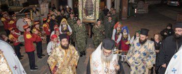 Τα Γιαννιτσά υποδέχτηκαν την Παναγία την Ελεούσα (ΦΩΤΟ)