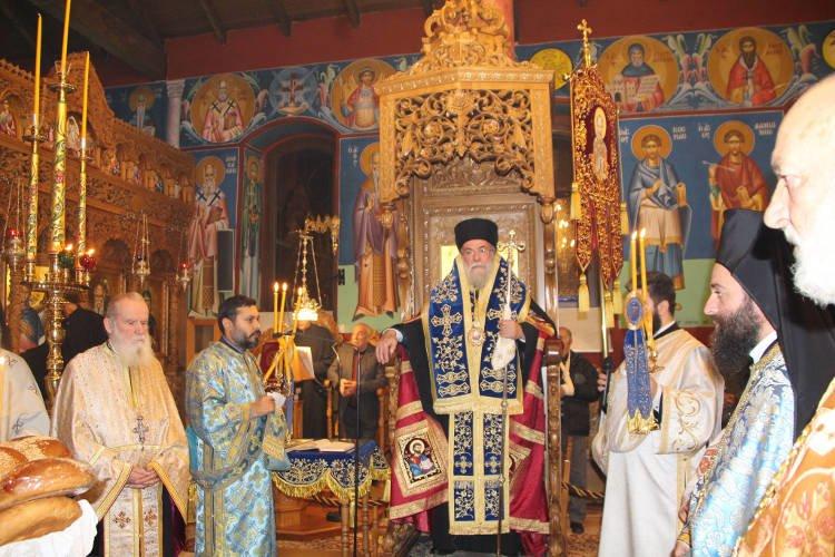 Εορτή του Αγίου Νικολάου στη Μητρόπολη Ελευθερουπόλεως