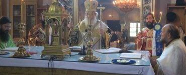 Εορτή Συλλήψεως της Αγίας Άννας στη Μητρόπολη Φθιώτιδος