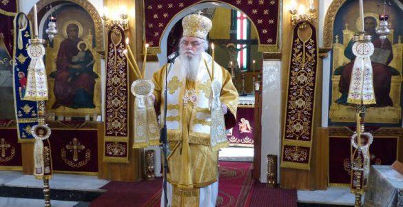 Κυριακή των Προπατόρων στη Μητρόπολη Καστορίας
